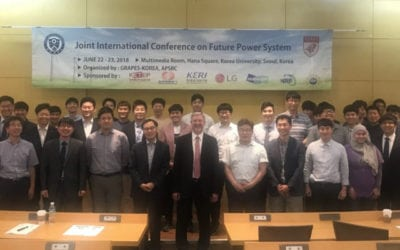 Dr. Alan Mantooth attends GRAPES Korea Meeting